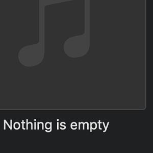 Nothing is empty  无所事事