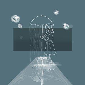 你的世界是否也下著雨