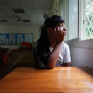 15岁少女的烦恼