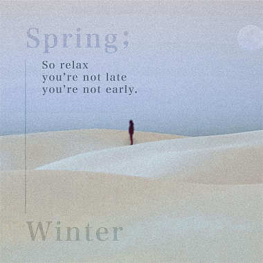 春天冬日 Spring,winter