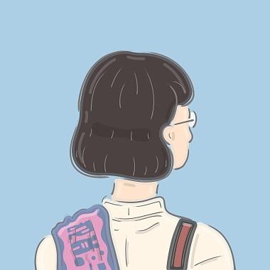 戴著圆框眼镜的女孩 (demo)
