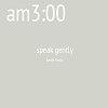 am3:00(speak gently)demo